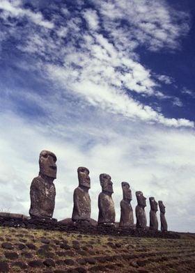 Moai of Easter Island 10