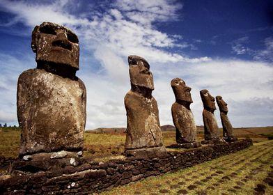 Moai of Easter Island 8