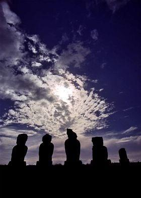 Moai of Easter Island 7