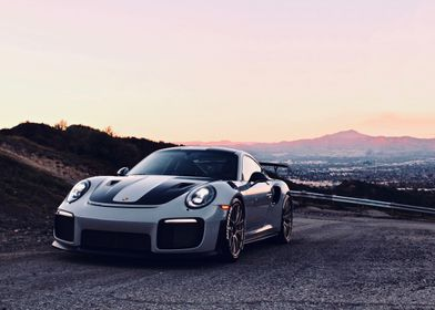 GT2RS Sunset