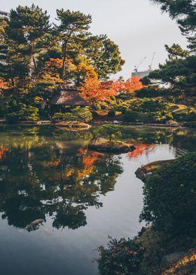 Traditional Asian Garden