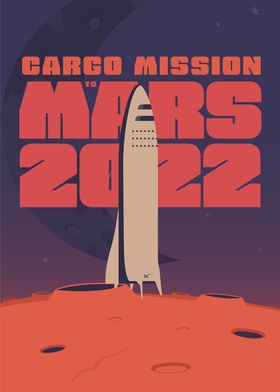 Cargo mission to Mars 2022