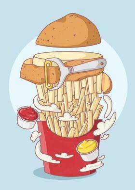 Transformational Fries