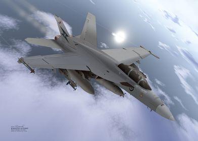 Boeing FA18 Hornet