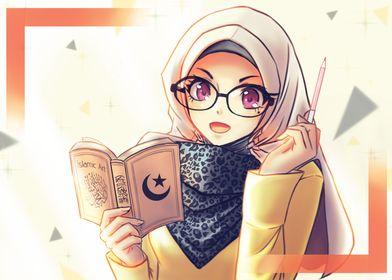 Muslim girl wallpaper
