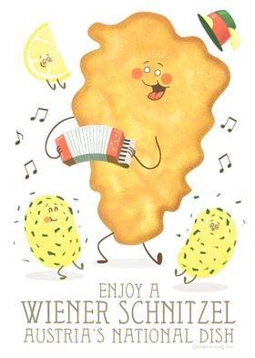 Enjoy a Wiener Schnitzel