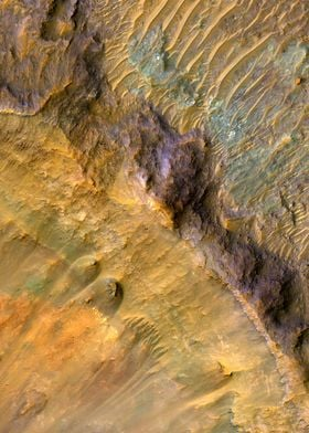 Mars Stratigraphy Exposed