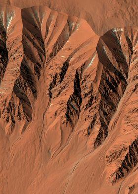 Mars Fresh Crater Gullies