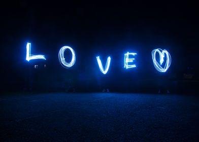 Love Light Painting