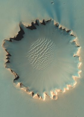 Mars Victoria Crater