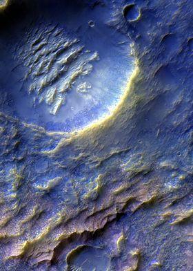 Mars Dragon Crater