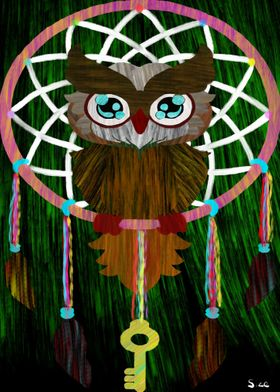 Dream catching Owl