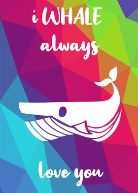 Rainbow Cute Whale 30