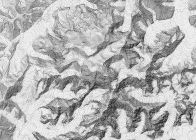 Denali Topographic Map