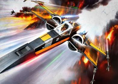 X-Wing Poedameron