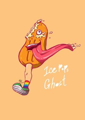 Ice pops Ghost