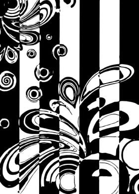 Black and White Abstract