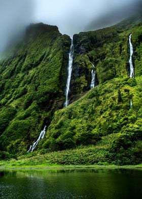 Waterfalls of Flores