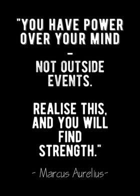 Strength Stoic Quote