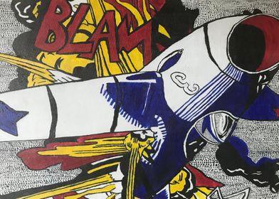 BLAM Lichtenstein Tribute