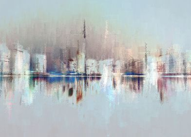 City of Pastels