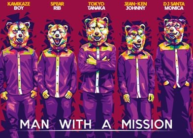 Man With A Mission in WPAP