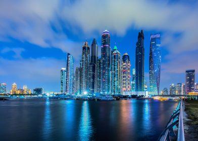 The Beautiful Dubai Marina