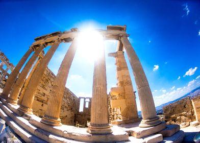 Ruins of Aegen Greece