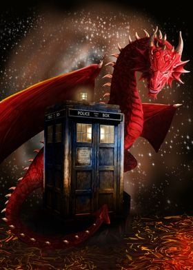 Phonebox and Dragon Fire