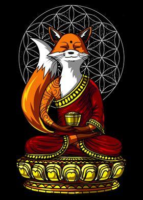 Fox Buddha Yoga Meditation