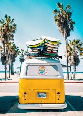 Van Life In Yellow