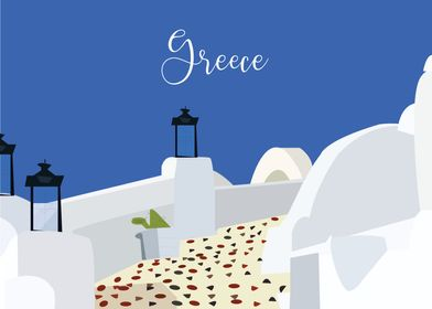 Greece Illustration