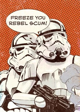 Freeze You Rebel Scum