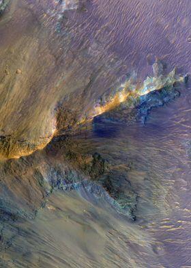 Mars Hills In Juventae