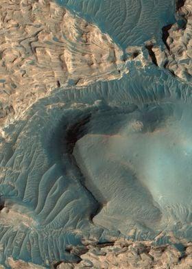 Mars Uplifted Blocks