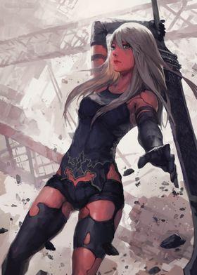 Fantasy Girl Warrior 1
