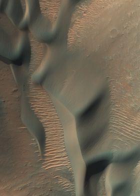 Mars Dunes in Nectaris