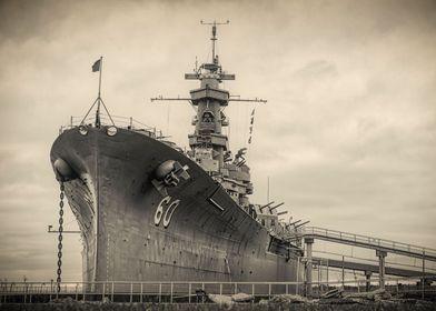 USS Alabama BB 60