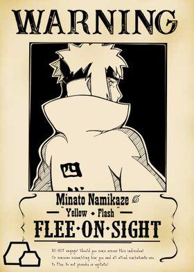 Warning Flee on Sight