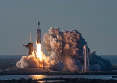 SpaceX Arabsat Launch