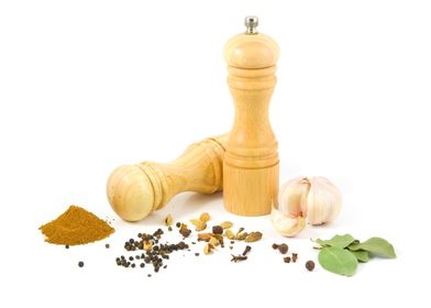 Peppermill and Spices