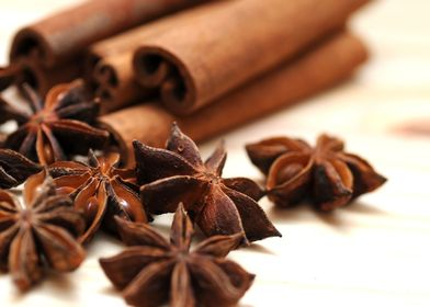 Anise and Cinnamon Spices