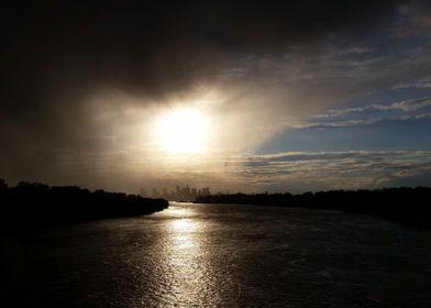 Rain and Sun over Warsaw