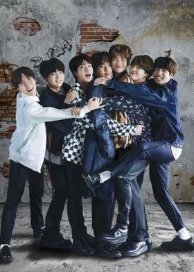 BTS Hug Fanart