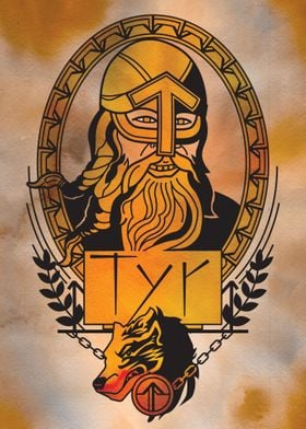 Tyr Norse Viking God