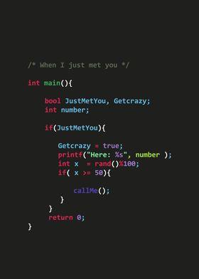 Just met You C++