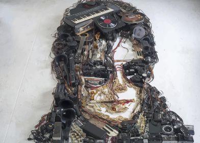 Michael Jackson 3Dportrait