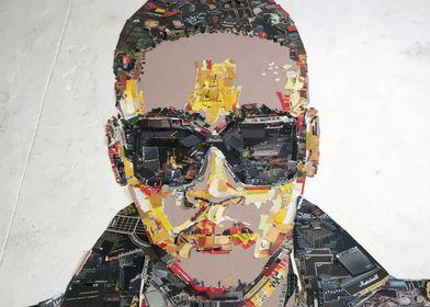 Anselmo Ralph 3D portrait