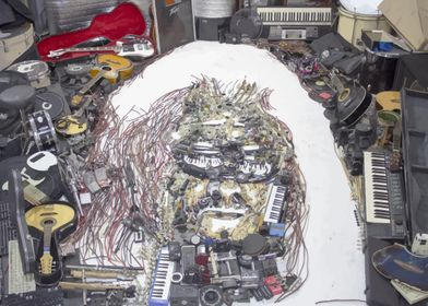 Hermeto Pascoal portrait