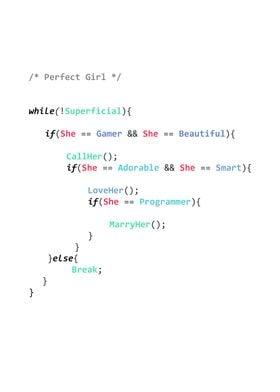 Perfect Girl C++